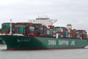 CSCL Mercury containership