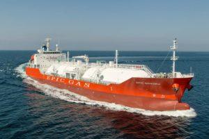Epic Baluan LPG tanker