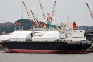 LNG Mars ship