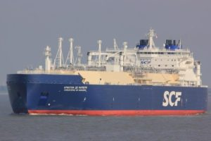 Christophe De Margerie LNG carrier