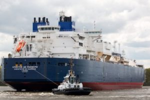 Christophe de Margerie gas carrier
