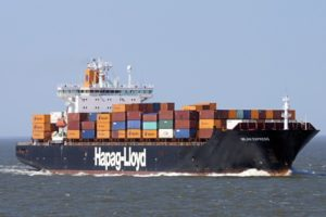 Milan Express container ship