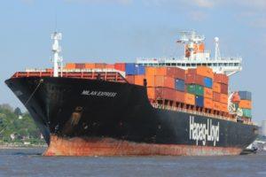 Milan Express vessel