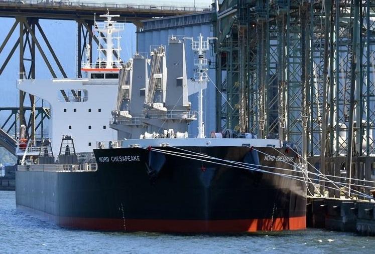 Nord Chesapeake bulk carrier