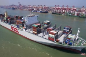OOCL Germany containership