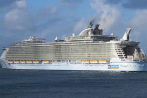 Oasis of the Seas vessel